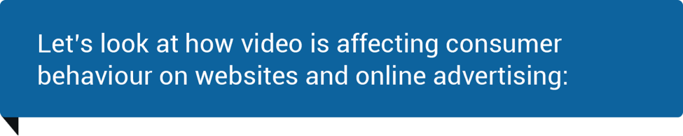 Video affect on consumers